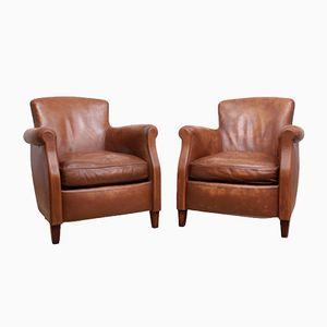 Kleine Französische Sessel, 1960er, 2er Set