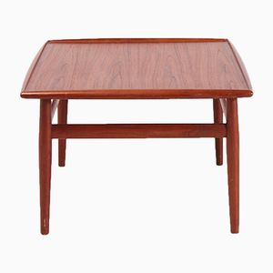 Mid-Century Teak Coffee Table by Grete Jalk for Glostrup