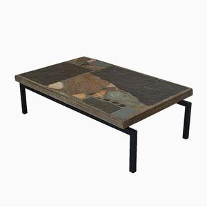 Slate Stone Coffee Table by Paul Kingma, 1964