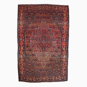 Antiker Persischer Handgeknüpfter Senneh Teppich, 1900er