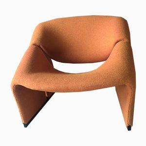 F580 Stuhl von Pierre Paulin für Artifort, 1960er