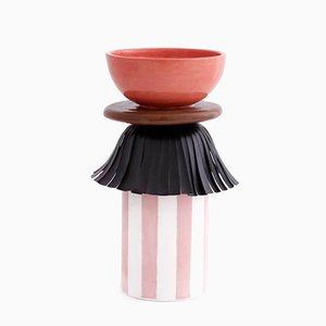 Maasai Skirt Vase by Serena Confalonieri