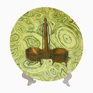 Dinner Plate Stoviglie No. 7 by Piero Fornasetti, 1955