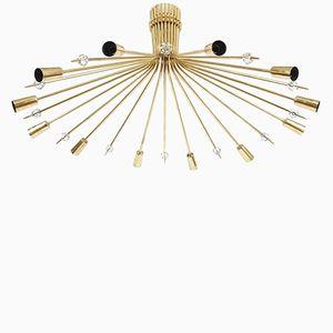 Applique pour Plafond Stella Mid-Century par J.T. Kalmar, 1950s