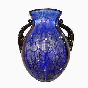 Vase Antique Bleu de Loetz