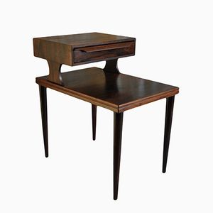 Mid-Century Danish Rosewood Nightstands, 1960s, Set of 2