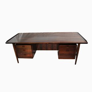 Mid-Century Rosewood Executive Desk by Arne Vodder for Sibast, 1960s