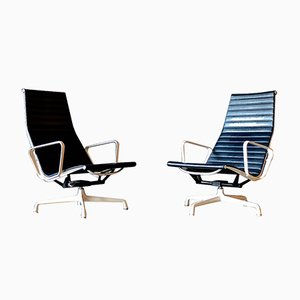 EA 124 Armchairs by Charles & Ray Eames for Vitra, 1970s, Set of 2
