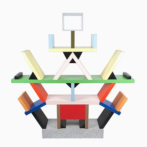 Carlton Bookcase by Ettore Sottsass for Memphis, 1995