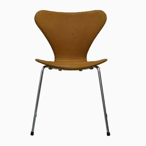 Chaise Series 7 Vintage by Arne Jacobsen pour Fritz Hansen