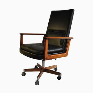 Mid-Century Executive Desk Chair by Arne Vodder for Sibast, 1960s