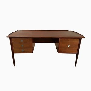 Mid-Century Rosewood Executive Desk by Dyrlund Denmark, 1960s