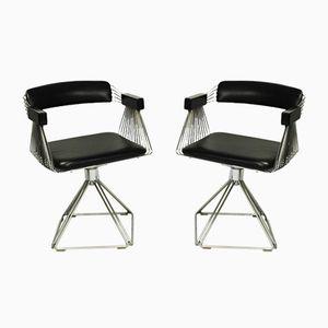 Stühle von Rudi Verelst Delta für Novalux, 2er Set