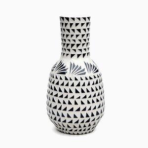 Vase Fan Dazzle par Dana Bechert