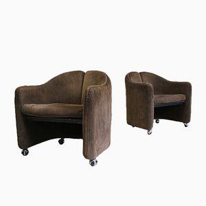 PS 142 Sessel von Eugenio Gerli für Tecno, 1966, 2er Set