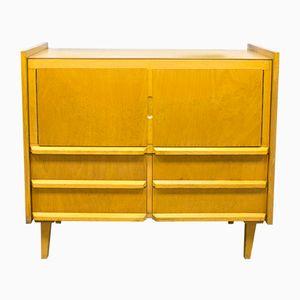 Vintage Blonde School Cabinet