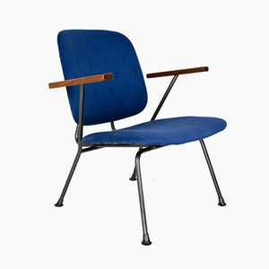 Dutch Vintage Lounge Chair by W. H. Gispen for Kembo, 1950s