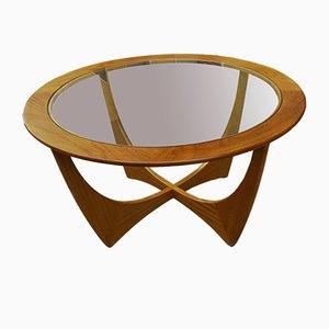 Tavolo rotondo Astro vintage in teak di Victor Wilkins per G Plan, anni '60