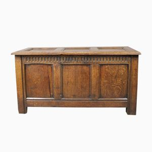 Antique Regency Oak Coffer
