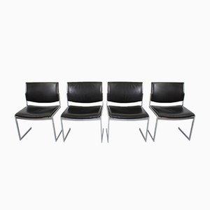 Modell JK 770 Stühle von Jørgen Kastholm für Kill International, 1970, 4er Set