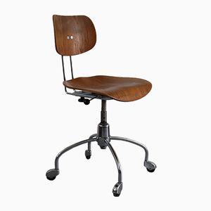 Chaise de Bureau SE 40R en Noyer par Egon Eiermann pour Wilde & Spieth, 1950s