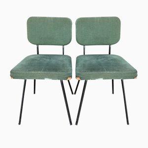 Mid-Century Stühle von André Simard für Airborne, 2er Set