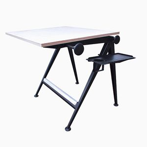 Vintage Reply Adjustable Drawing Table by Friso Kramer & Wim Rietveld for Ahrend De Cirkel