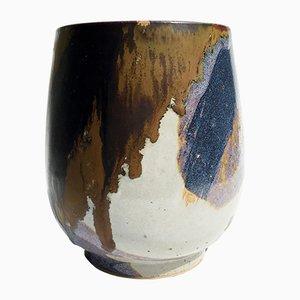 Tassenförmige Vintage Vase von Renate & Hans Heckmann
