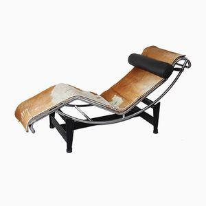Chaise longue LC4 di Le Corbusier, Jeanneret e Perriand per Cassina, anni '60