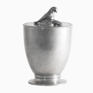 Pewter Jar with Osprey by Estrid Ericson, 1925