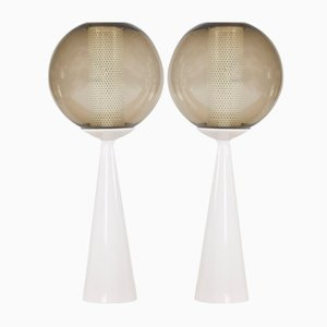 Keramik Tischlampen von Hans-Agne Jakobsson, 1960er, 2er Set