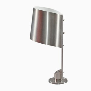 Stainless Steel Desk Lamp by Maison Charles, 1970s