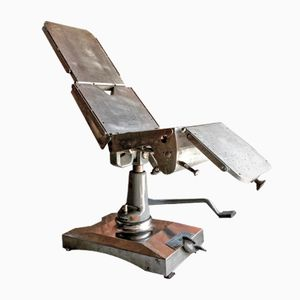 Mid-Century Manual Operating Table from Eshmann, 1960s