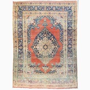 Antique Tabriz Rug by Haji Jalili, 1900s