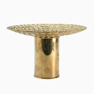 Brass Sculptural Vase by Pierre Forssell for Skultuna, 1960s