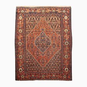 Vintage Persian Senneh Rug