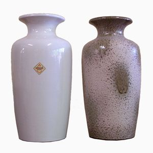 Vintage Model 202-30 Vases from Scheurich, Set of 2