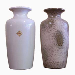 Vintage Modell 202-30 Vasen von Scheurich, 2er Set