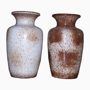 Vintage Modell 202-24 Vasen von Scheurich, 2er Set