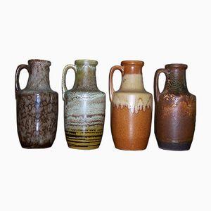 Vintage Modell 404-26 Vasen von Scheurich, 4er Set
