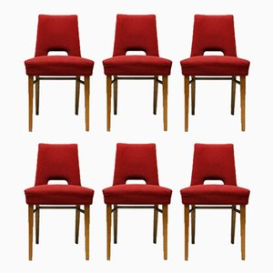 Dining Chairs by Ernst Max Jahn for VEB Deutsche Werkstätten Hellerau, 1958, Set of 6