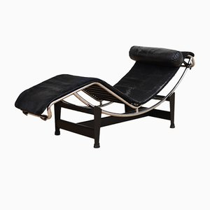 Shop chaise lounges online at pamono for Chaise longue le corbusier pony