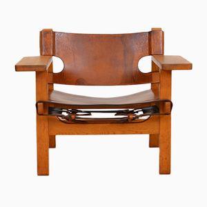 Modell 2226 Spanish Chair von Børge Mogensen für Fredericia