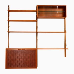 Modular Wall Unit by Poul Cadovius for Royal System, 1960s
