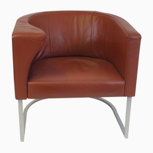 DS-207 Leather Chair by Antonella Scarpitta for de Sede, 1985