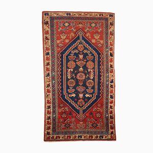 Handgemachter Antiker Persischer Shiraz Teppich, 1920er