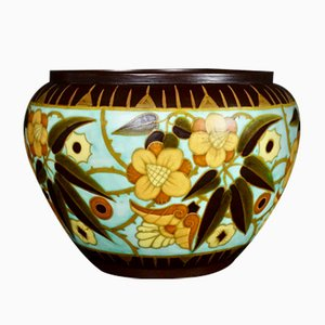 Art Deco Cache Pot from Boch Freres, 1934