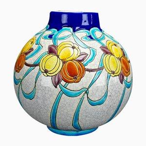 Vase Art Déco par Charles Catteau pour Boch Frères, 1924
