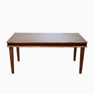 Italian Rosewood Dining Table, 1930s