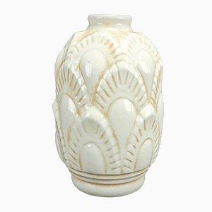 Vase Modèle F1117 par Charles Catteau pour Boch Frères Keramis, 1930s